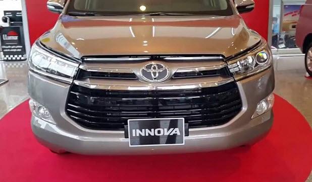 Toyota Innova E đời 2016, màu bạc 2