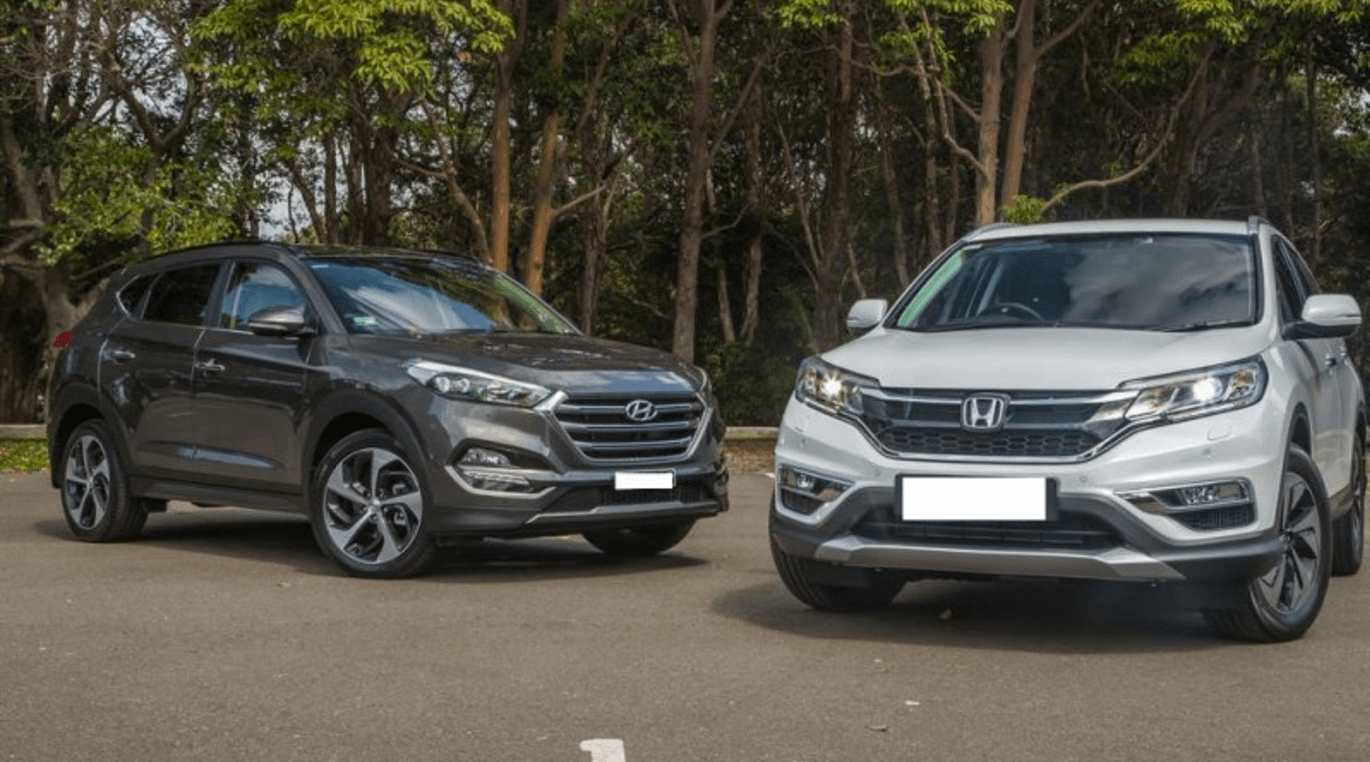 So s nh hyundai tucson v honda cr v 2016 danhgiaxe for 2017 hyundai tucson vs 2017 honda crv