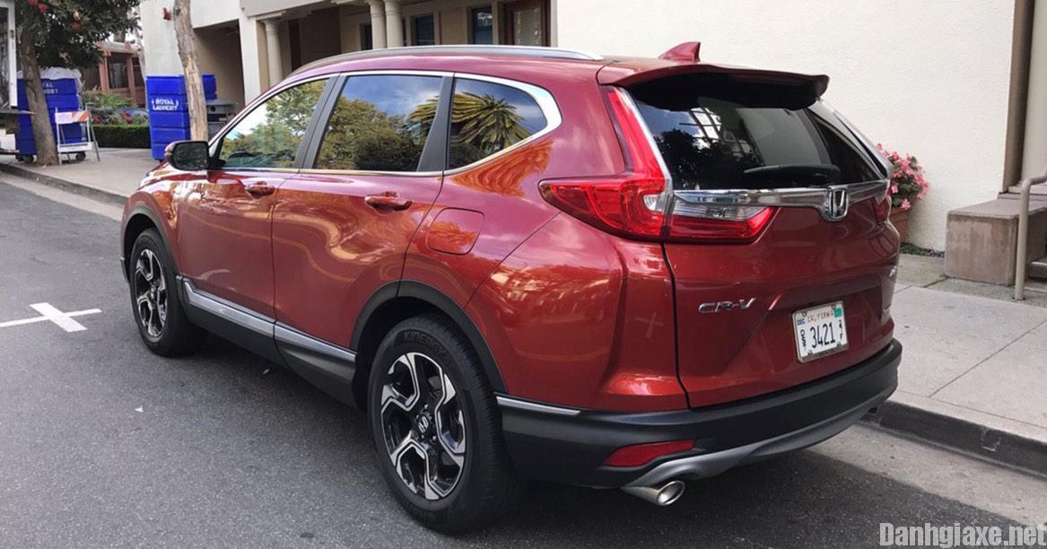 Honda CR-V 2017: Mạnh mẽ hơn, tiện nghi hơn & An toàn hơn