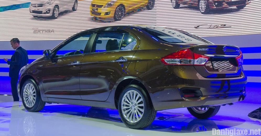 Đánh giá Suzuki Ciaz 2017 về thiết kế ngoại thất
