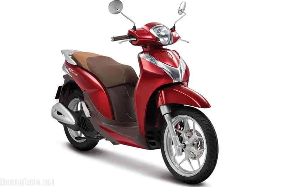 Cập nhật bảng giá xe Honda SH Mode 2018 các màu mới nhất hôm nay