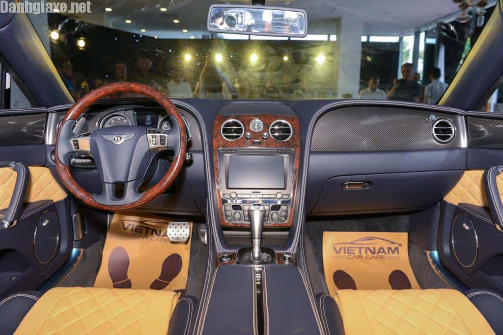 Chi tiet Bentley Flying Spur V8 S gia hon 16,8 ty dau tien tai VN hinh anh 5