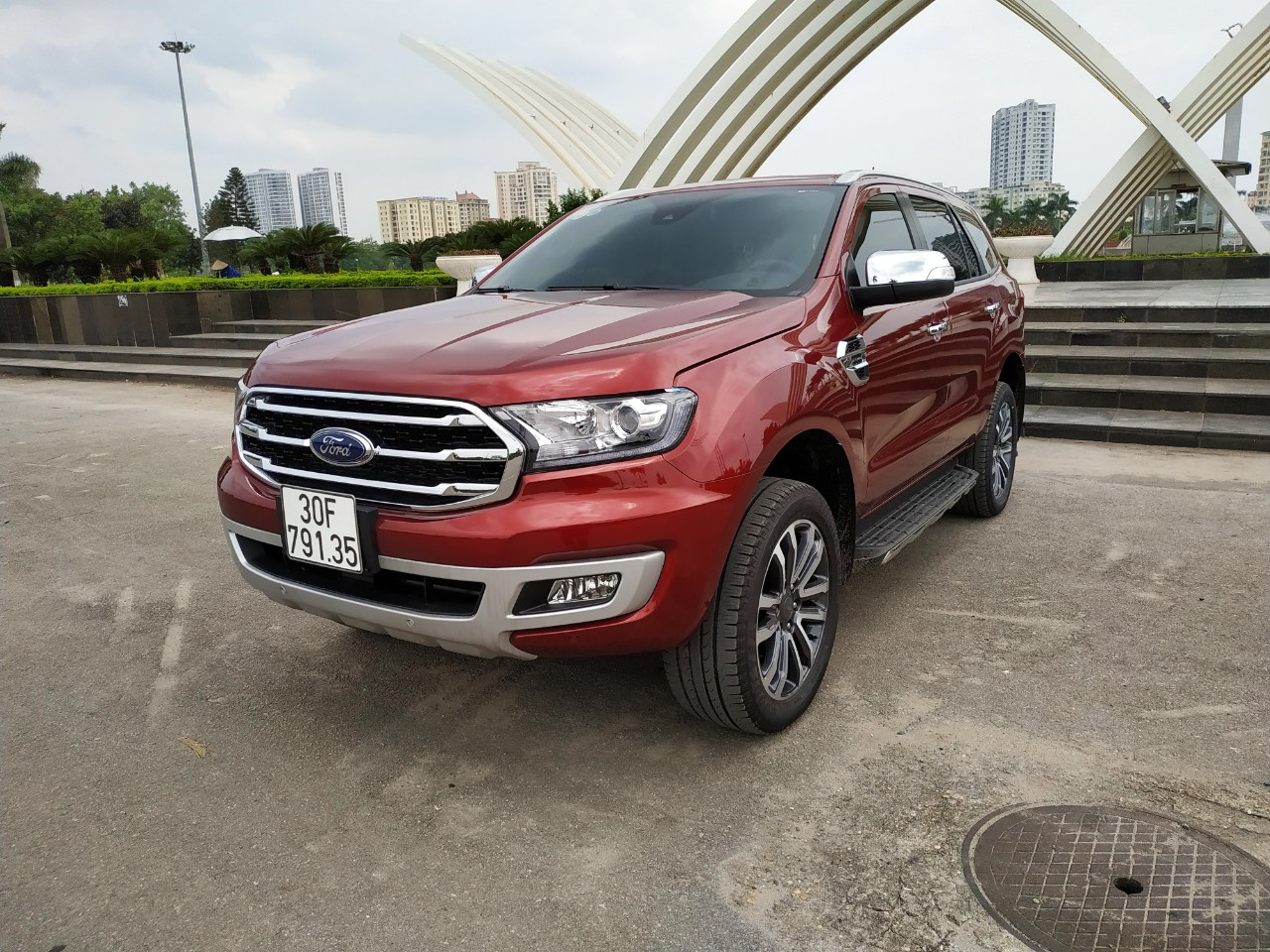 Xe Ford Everest 2019